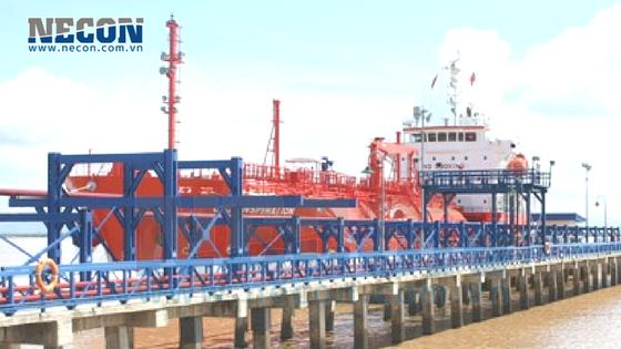 Sửa chữa cầu cảng Đình Vũ - Nối cọc gãy dưới nước