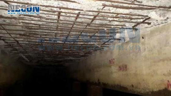 Hiện trạng hư hỏng kết cấu cảng Thị Nại- hư hỏng đáy bản